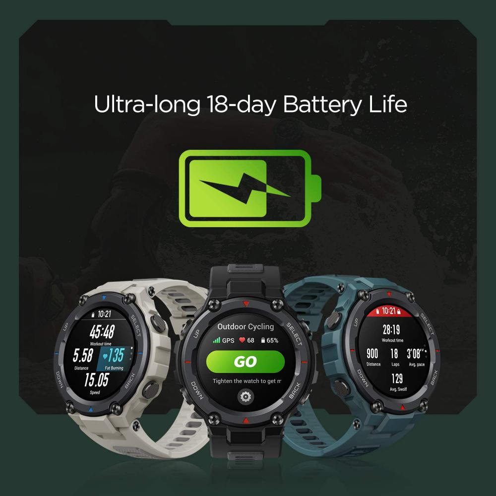 Amazfit T Rex Pro Smartwatch Fitness Watch With Spo2 (4)