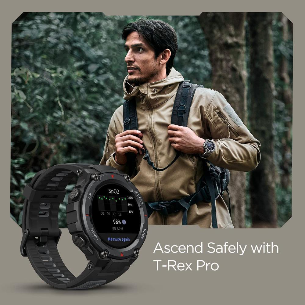 Amazfit T Rex Pro Smartwatch Fitness Watch With Spo2 (7)