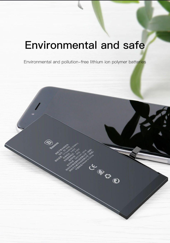 Baseus Original Phone Battery 3174mah For Iphone (3)