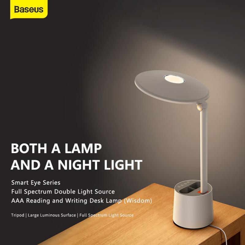 Baseus Smart Eye Series Full Spectrum Double Light Source Aaa Reading And Writing Desk Lamp (3)
