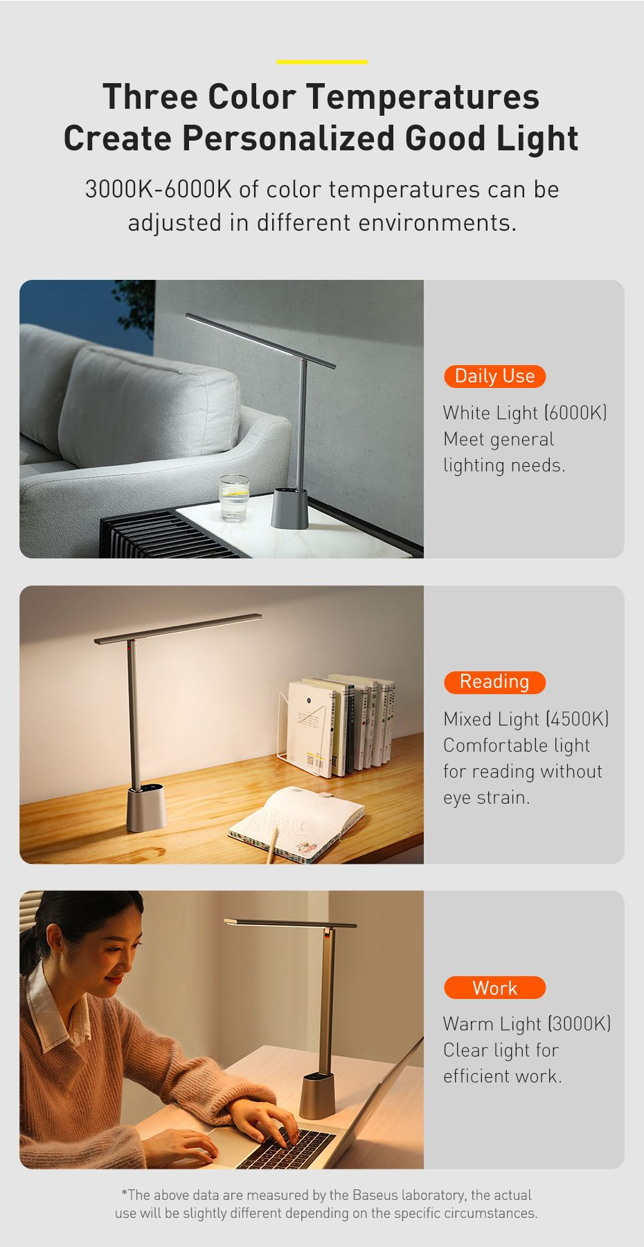 Baseus Smart Eye Series Rechargeable Folding Reading Desk Lamp Smart Light (5)