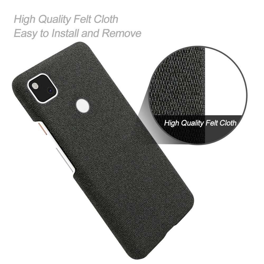 Coque Fabric Antiskid Cloth Texture Case For Google Pixel 4a 5g (1)