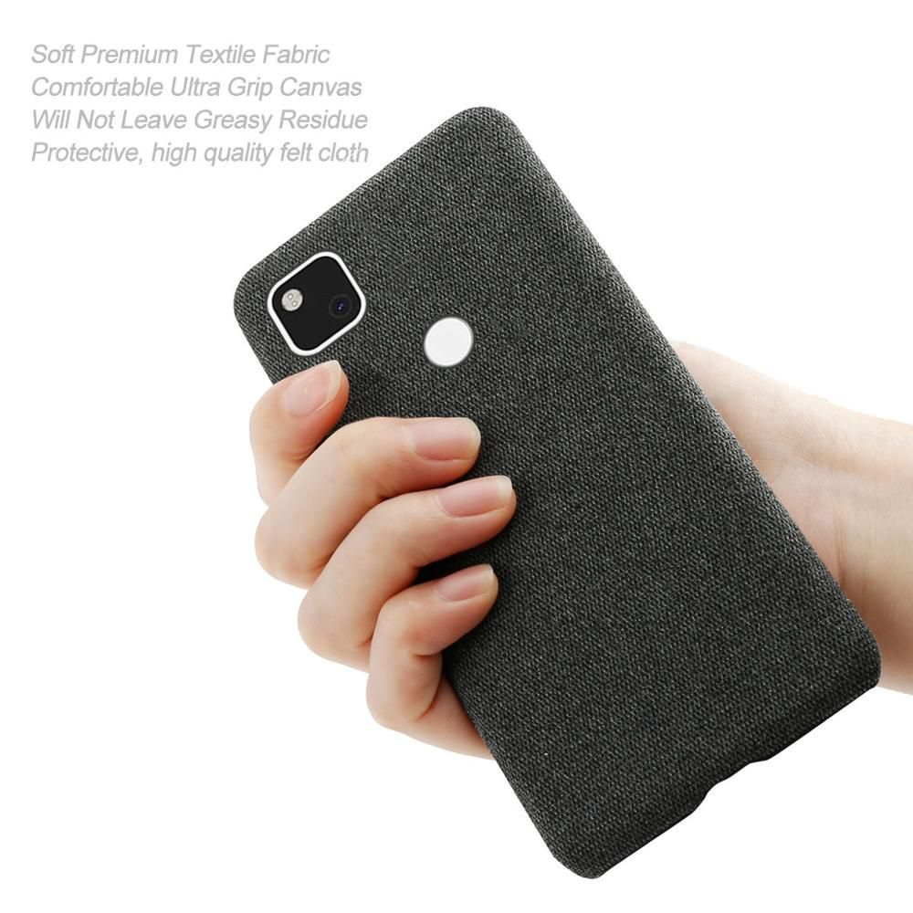 Coque Fabric Antiskid Cloth Texture Case For Google Pixel 4a 5g (3)