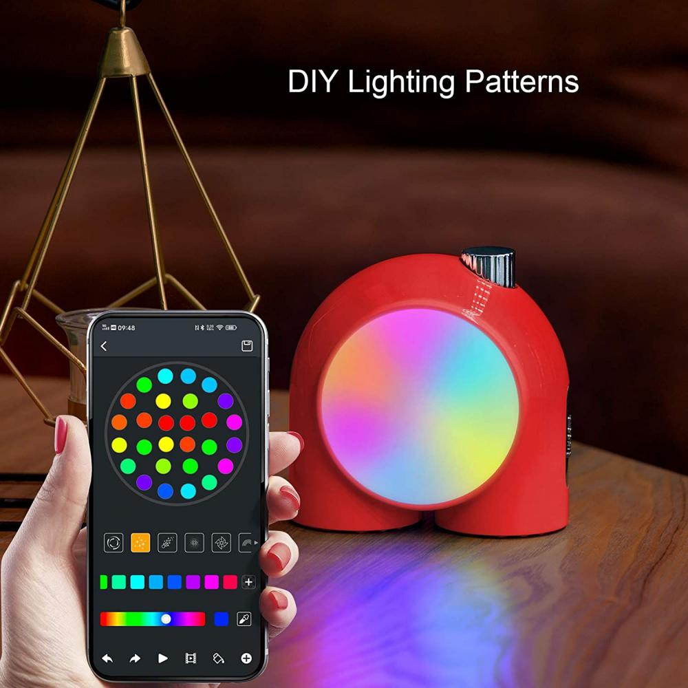 Divoom Planet 9 Table Lamps Dimmable Mood Lighting Light With App Controlled (8)