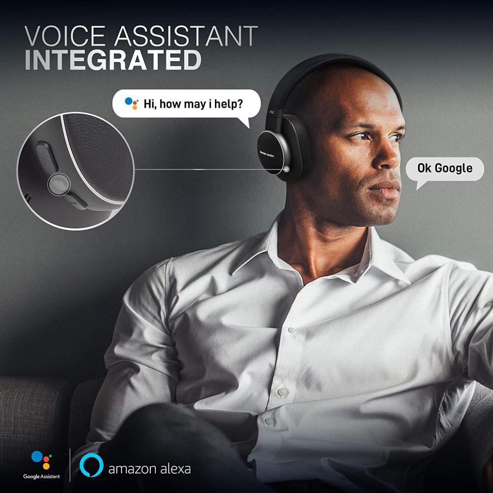 Harman Kardon Fly Wireless Over Ear Active Noise Cancelling Headphones (1)
