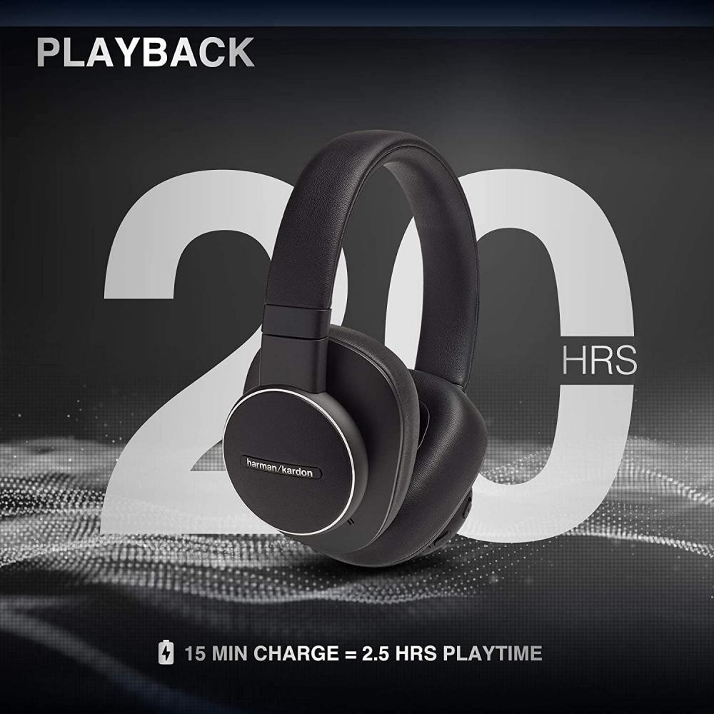 Harman Kardon Fly Wireless Over Ear Active Noise Cancelling Headphones (5)