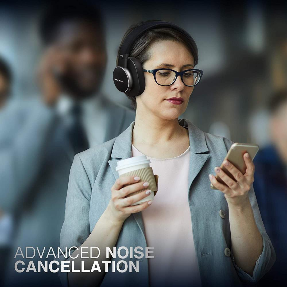 Harman Kardon Fly Wireless Over Ear Active Noise Cancelling Headphones (6)
