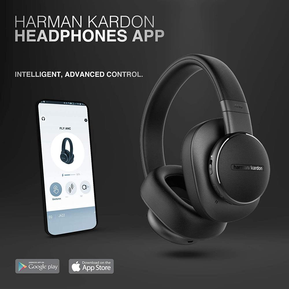 Harman Kardon Fly Wireless Over Ear Active Noise Cancelling Headphones (7)