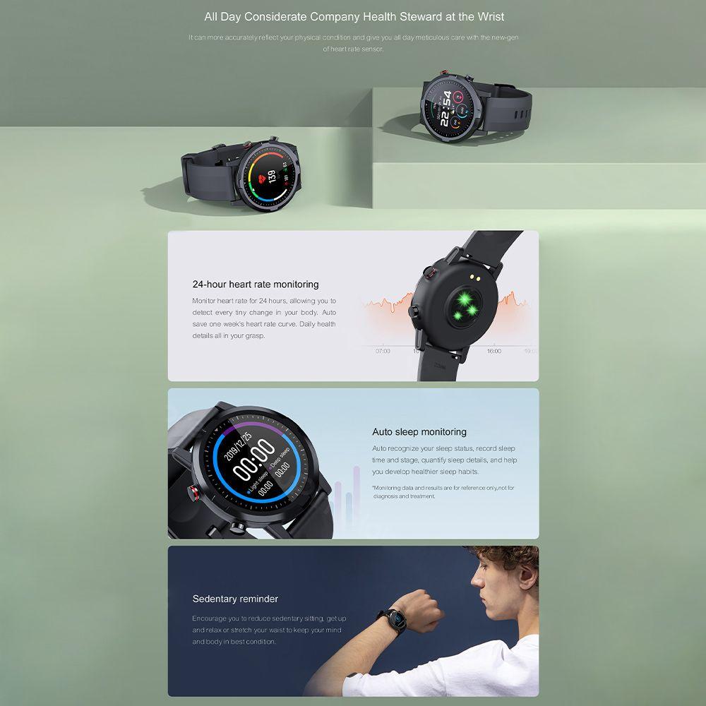 Haylou Rt Ls05s Smartwatch Ip68 Waterproof (2)