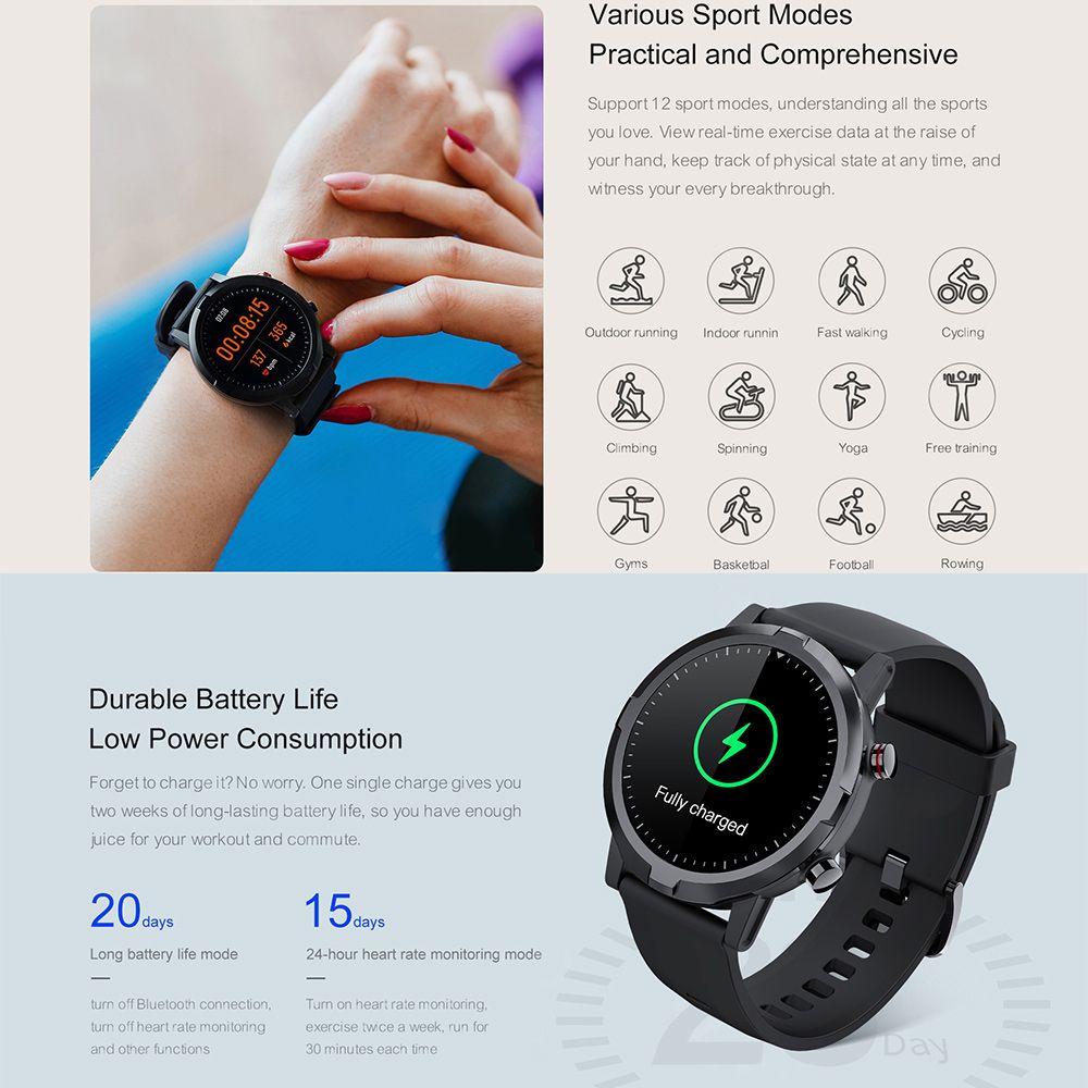 Haylou Rt Ls05s Smartwatch Ip68 Waterproof (6)
