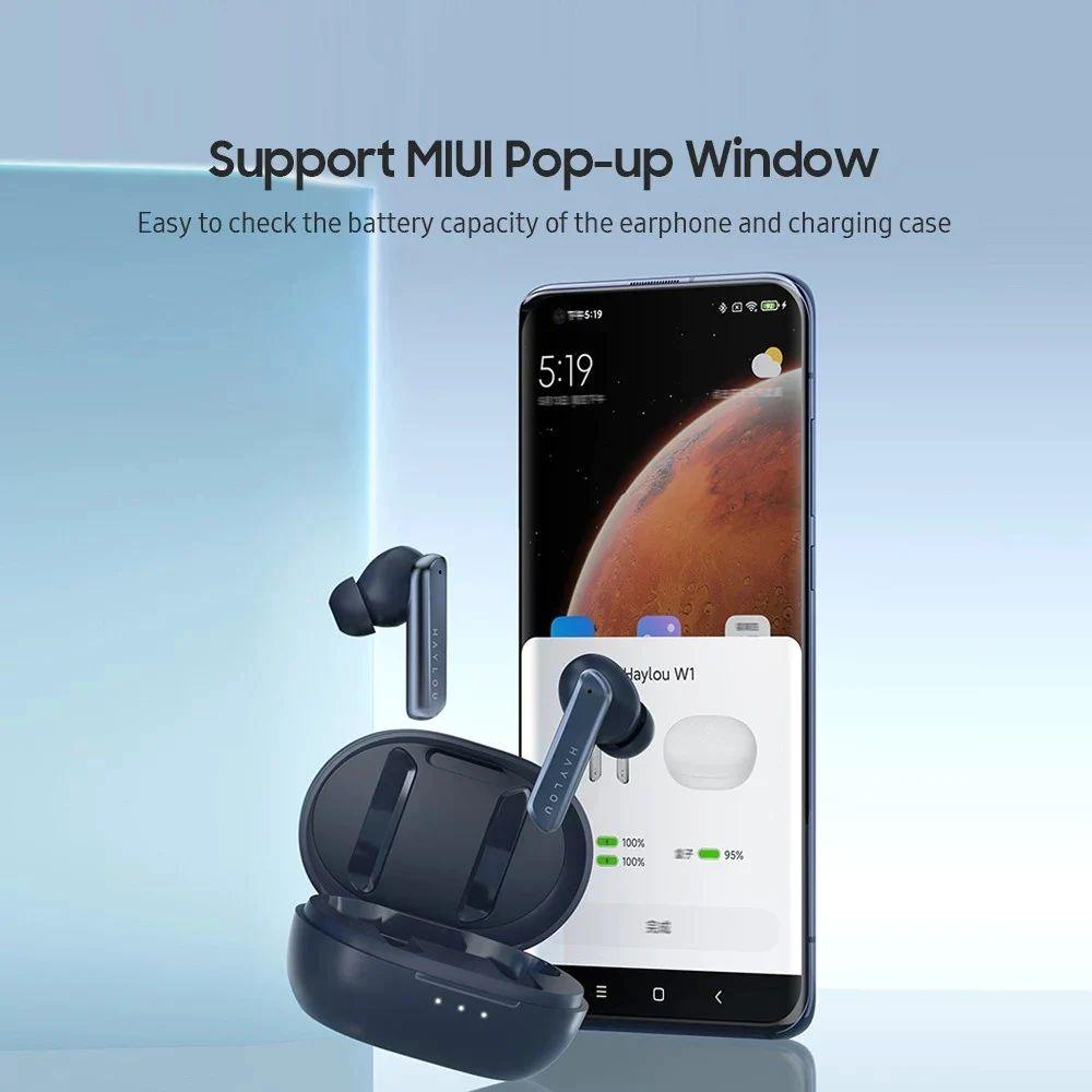 Haylou W1 Tws Bluetooth 5 2 In Ear Earbuds (6)