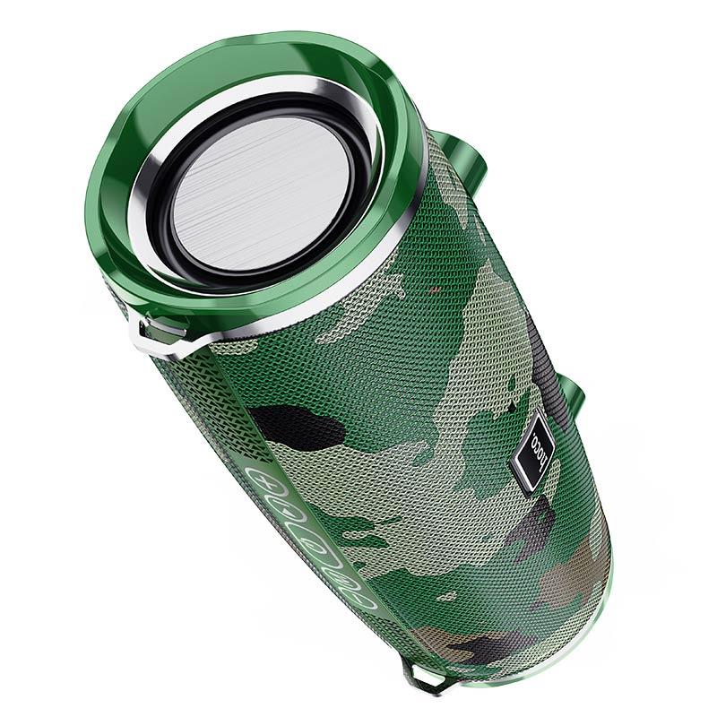 Hoco Bs40 Desire Waterproof Bt V5 0 Wireless Bluetooth Speaker Camouflage Green (1)
