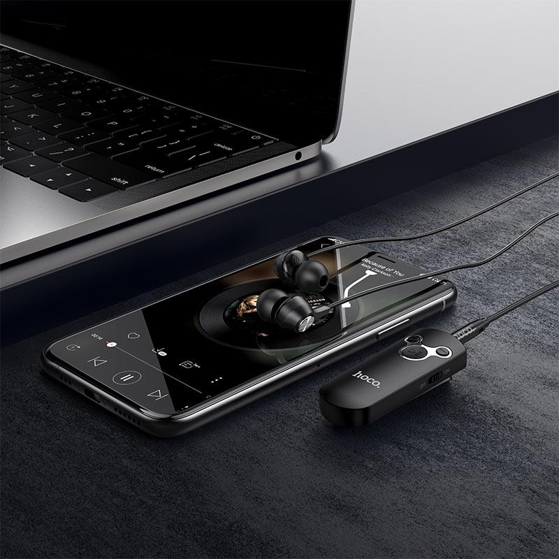 Hoco E52 Euphony With Wireless Audio Receiver (2)