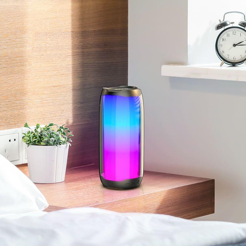 Hoco Hc8 Dazzling Luminous Wireless Bluetooth Speaker (1)