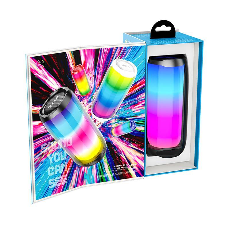 Hoco Hc8 Dazzling Luminous Wireless Bluetooth Speaker (2)