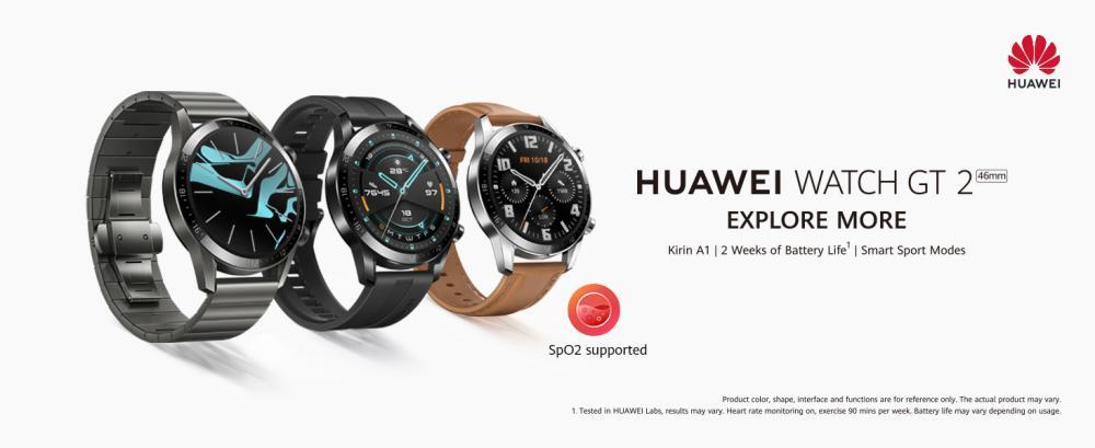 Huawei Watch Gt 2 46 Mm Matte Black (3)