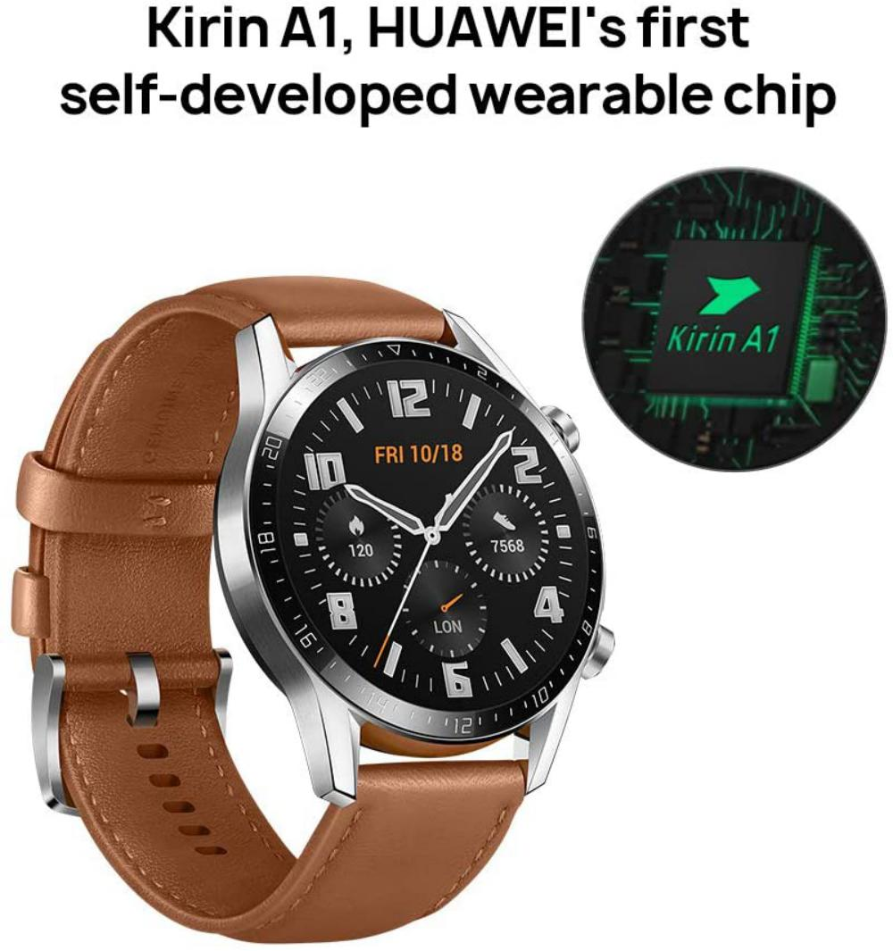 Huawei Watch Gt 2 46 Mm Pebble Brown (3)