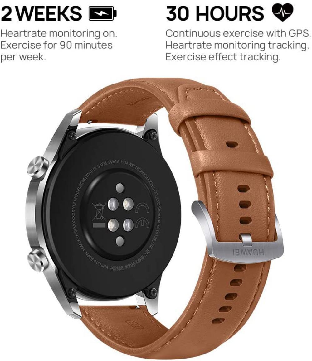 Huawei Watch Gt 2 46 Mm Pebble Brown (5)