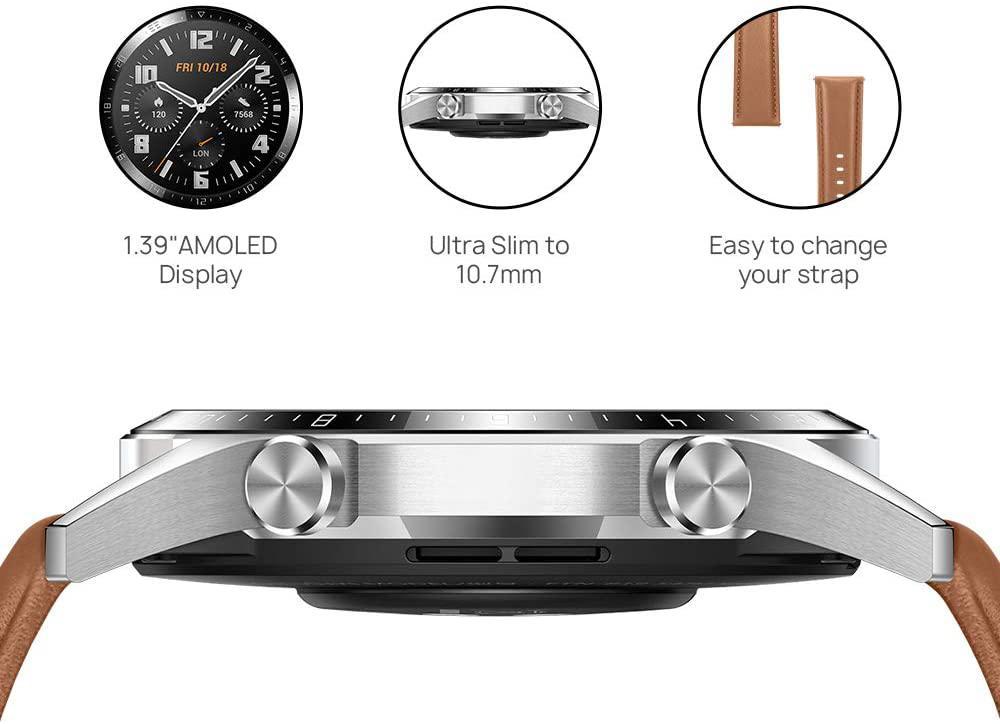 Huawei Watch Gt 2 46 Mm Pebble Brown (6)
