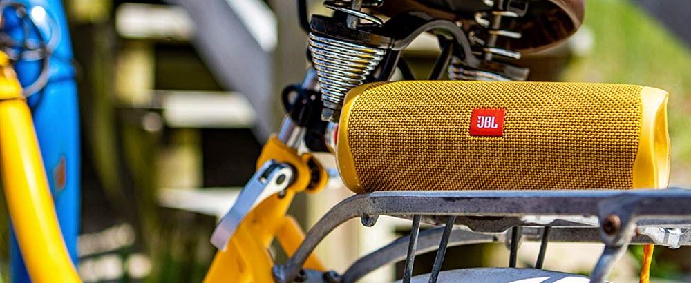 Jbl Flip 5 Waterproof Portable Bluetooth Speaker Yellow (2)
