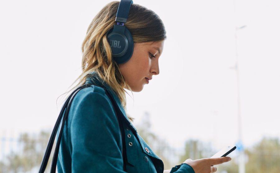 Jbl Live 650btnc Wireless Noise Cancelling Headphones Blue 1