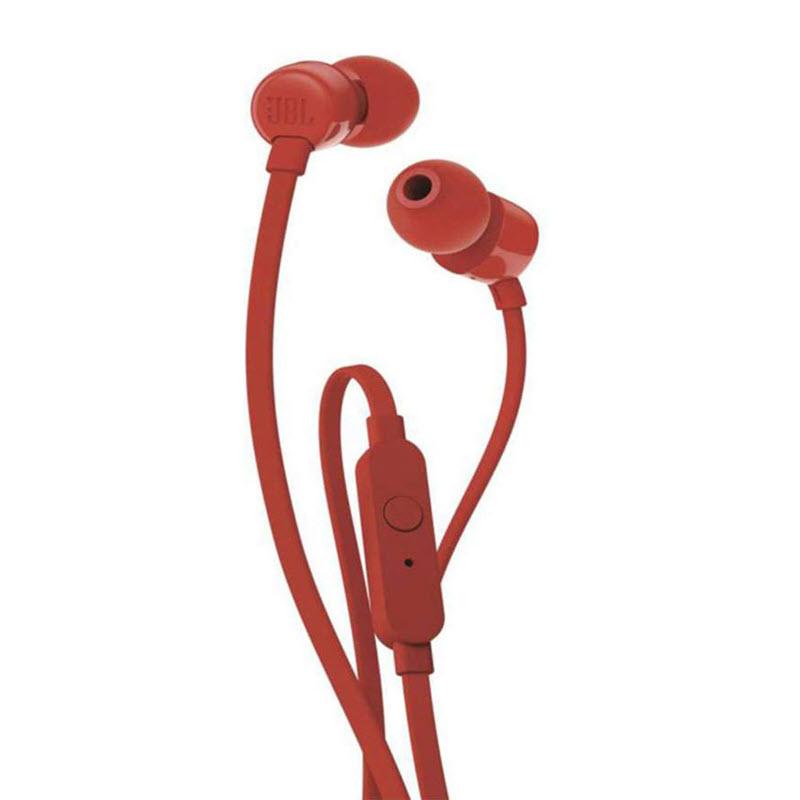 Jbl Tune 110 In Ear Headphones Red (1)