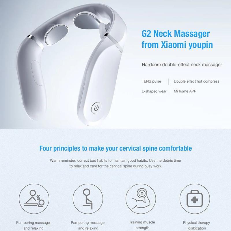 Jeeback Neck Massager G2 Cervical Massager Work With App (3)