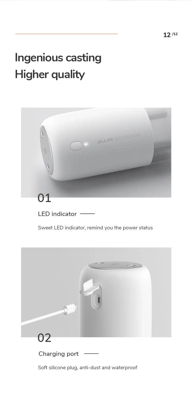 Jisulife Jb08 Dual Nozzle Dual Spray Usb Humidifier Portable 500ml (1)