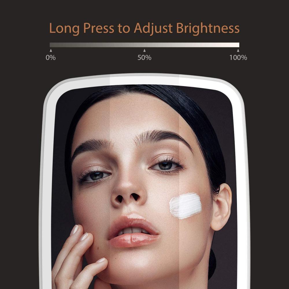 Jordan Judy Makeup Mirror Touch Screen Led Brightness Adjustable Light (2)