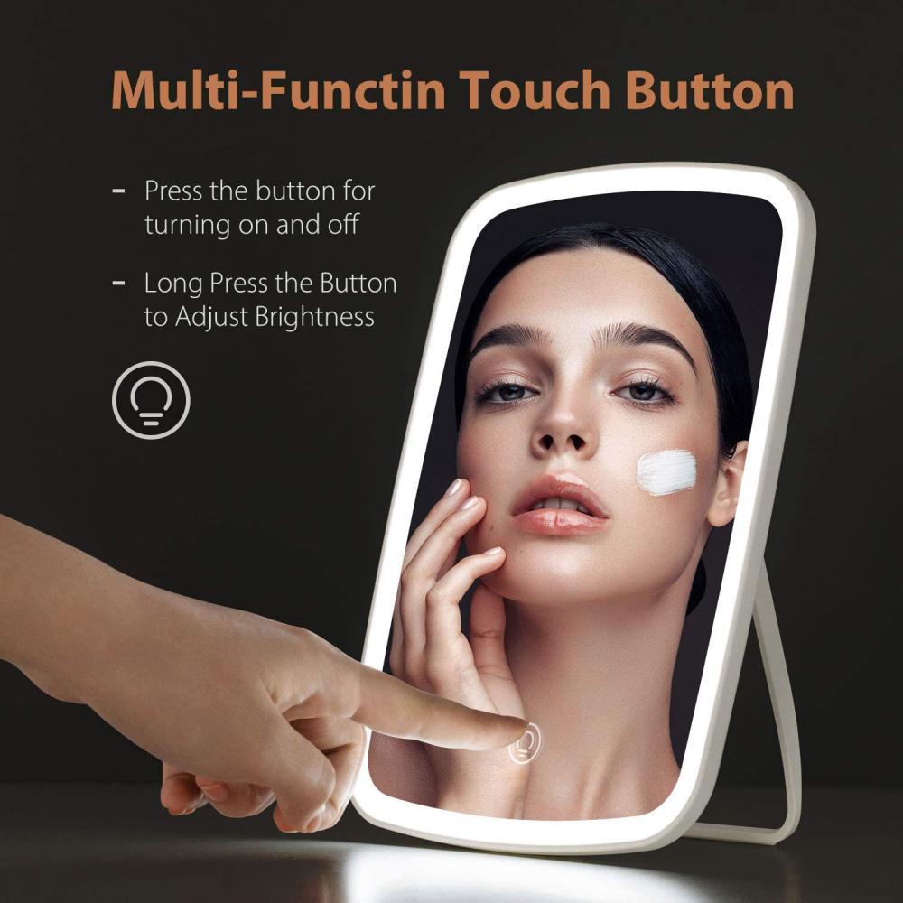 Jordan Judy Makeup Mirror Touch Screen Led Brightness Adjustable Light (5)