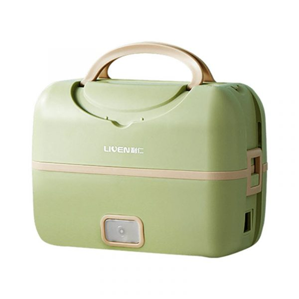 Liven Fh 18 Electric Lunch Box Portable Smart Cooking Silent Heating Sealed (7)
