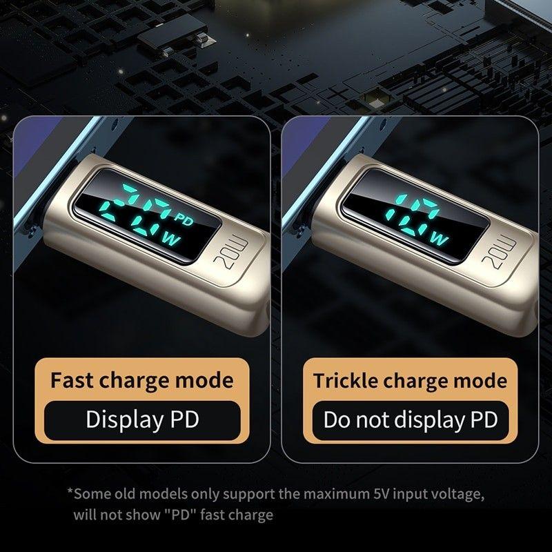 Mcdodo Ca 8810 Lightning Cable Type C Digital Display Pd 20w (6)
