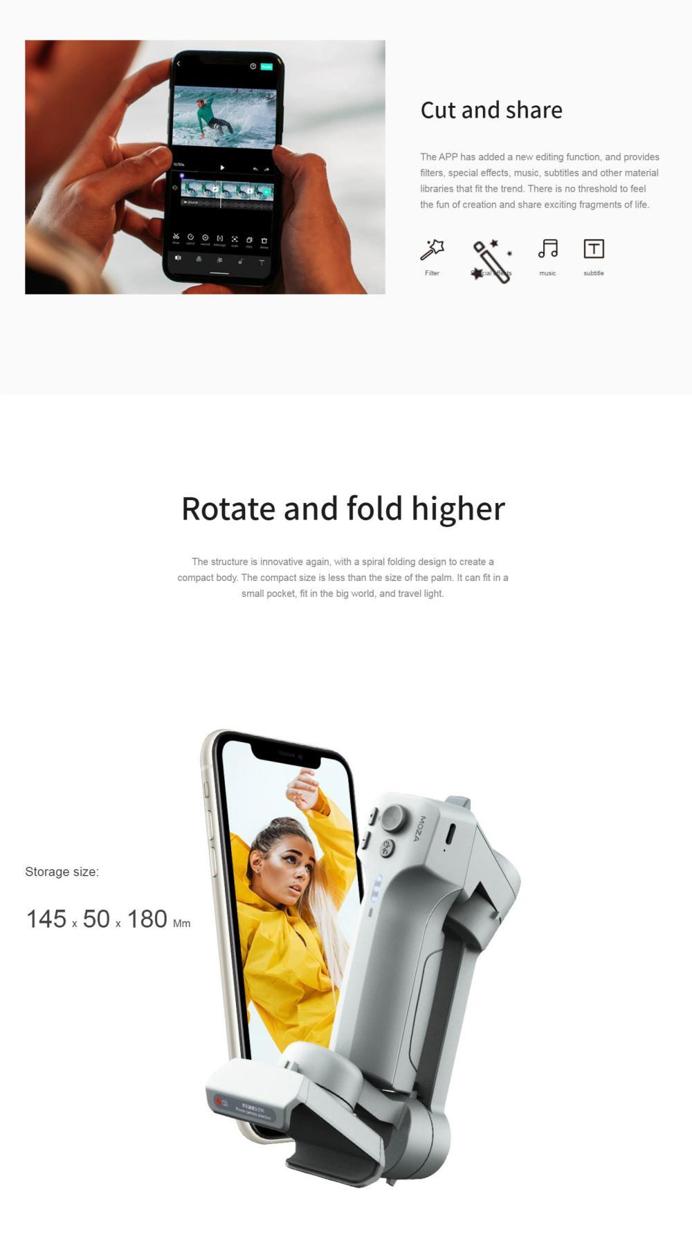 Moza Mini Mx Foldable Smartphone Gimbal (2)