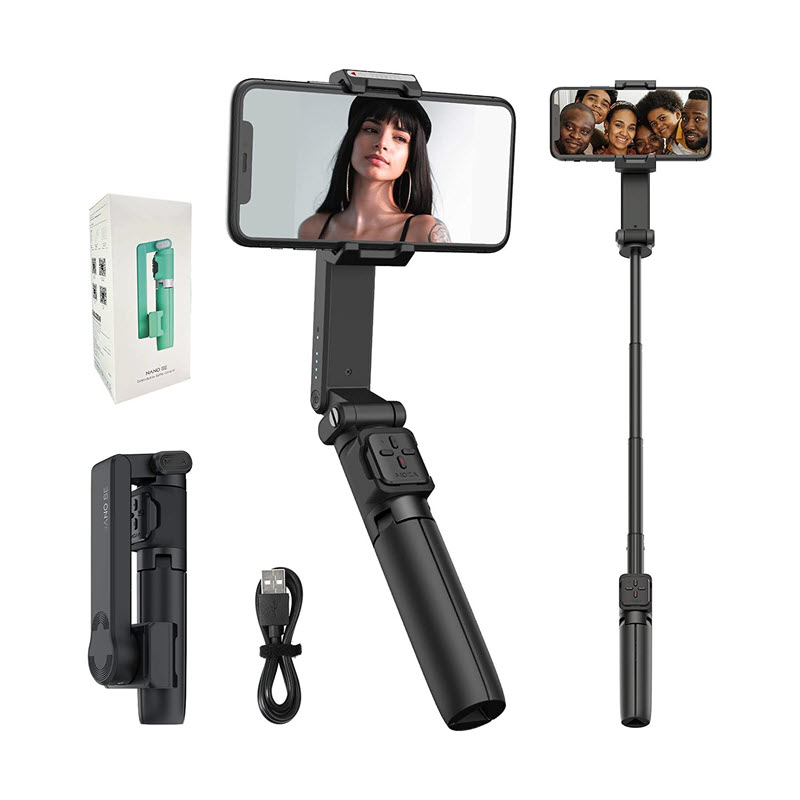 Moza Nano Se Selfie Stick With Extendable Gimbal For Smartphones (1)