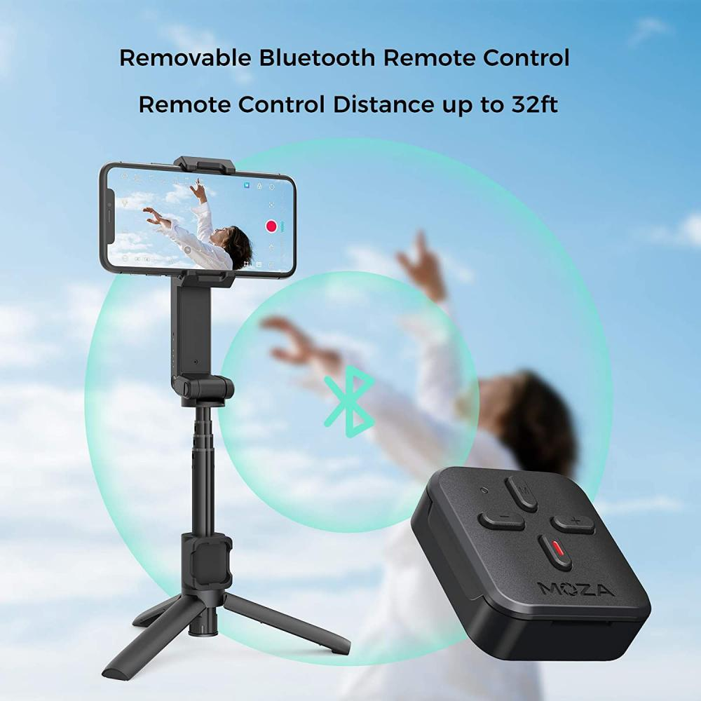 Moza Nano Se Selfie Stick With Extendable Gimbal For Smartphones (4)