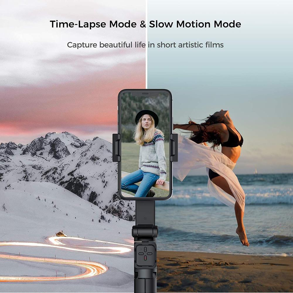 Moza Nano Se Selfie Stick With Extendable Gimbal For Smartphones (7)