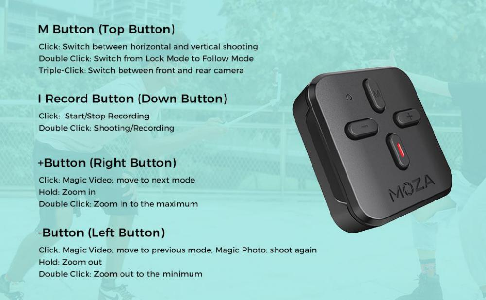 Moza Nano Se Selfie Stick With Extendable Gimbal For Smartphones (9)