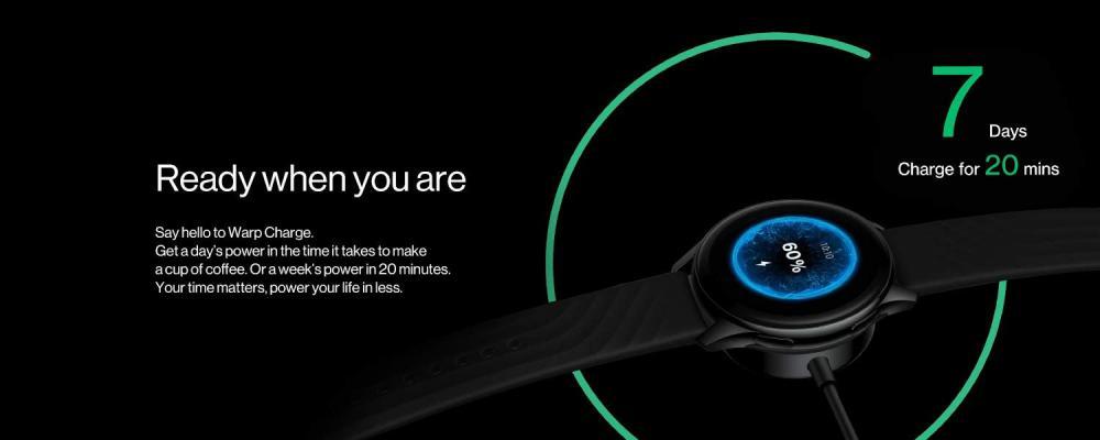 Oneplus Watch Ip68 Water Resistance Smartwatch Midnight Black (1)