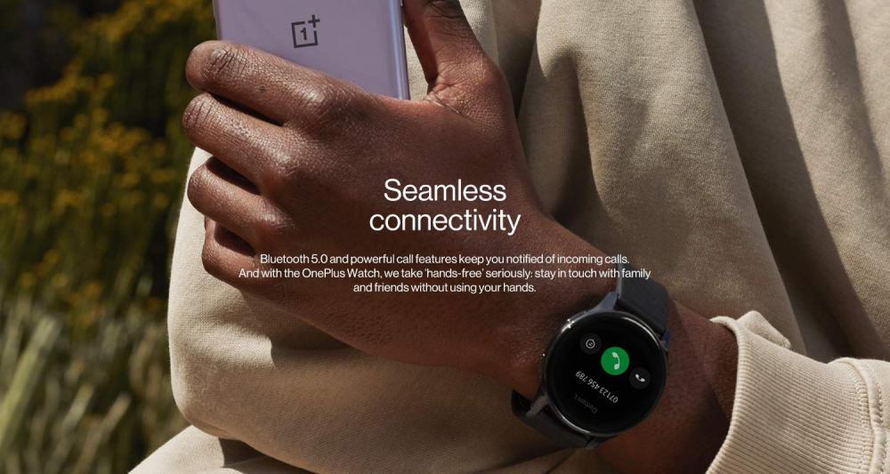 Oneplus Watch Ip68 Water Resistance Smartwatch Midnight Black (2)