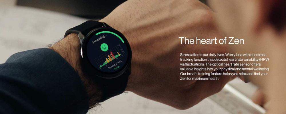 Oneplus Watch Ip68 Water Resistance Smartwatch Midnight Black (4)