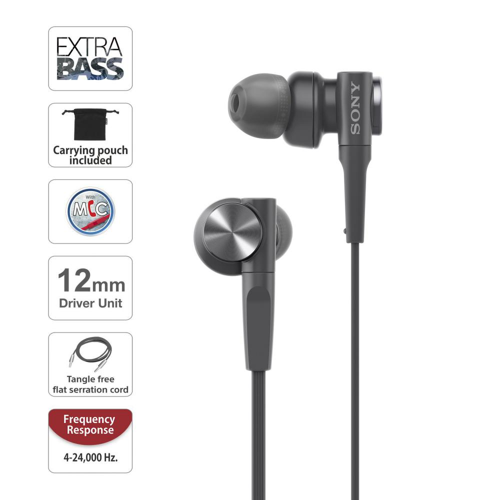Sony Mdr Xb55ap Wired Extra Bass In Ear Headphones (3)