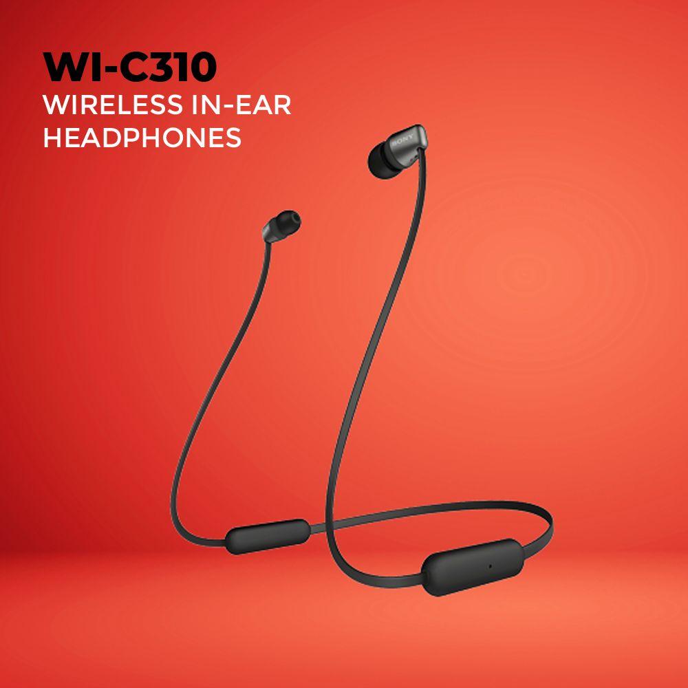 Sony Wi C310 Wireless In Ear Headphones With Mic (1) 1
