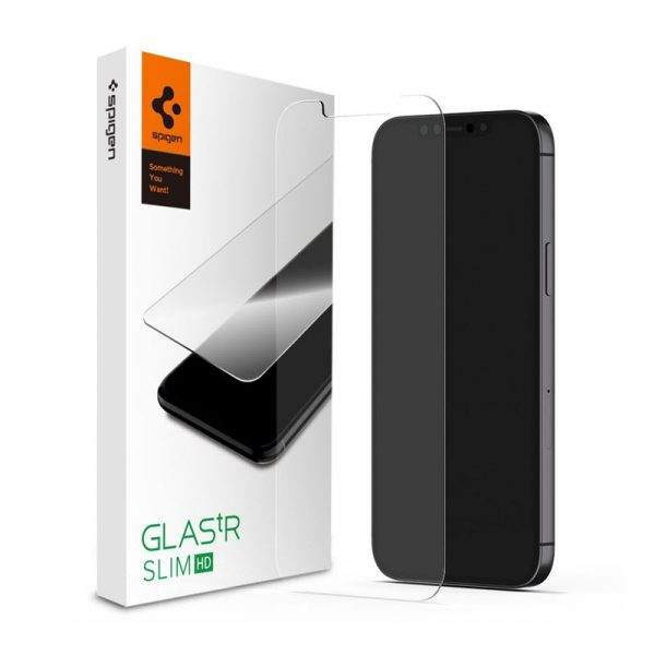 Spigen Glas Tr Slim Hd Screen Protector For Iphone 12 Iphone 12 Pro (4)