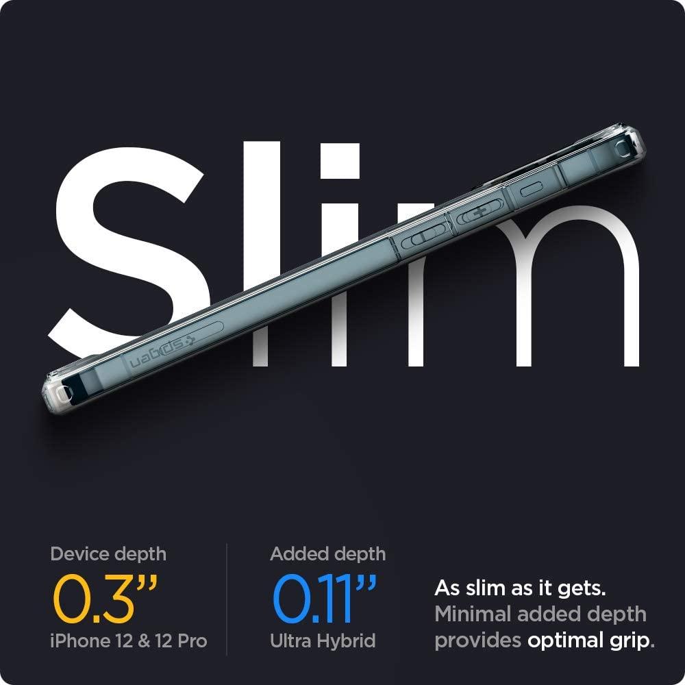 Spigen Ultra Hybrid For Iphone 12 Case (1)