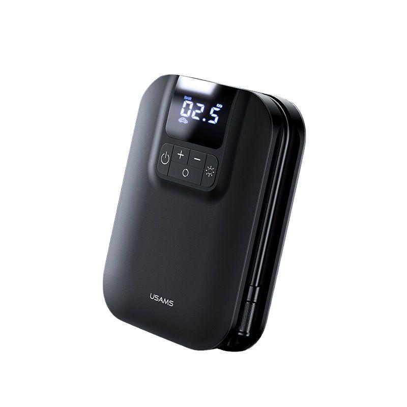 Usams Handheld Mini Smart Air Compressor Pump Car Tire Pressure Inflators (1)