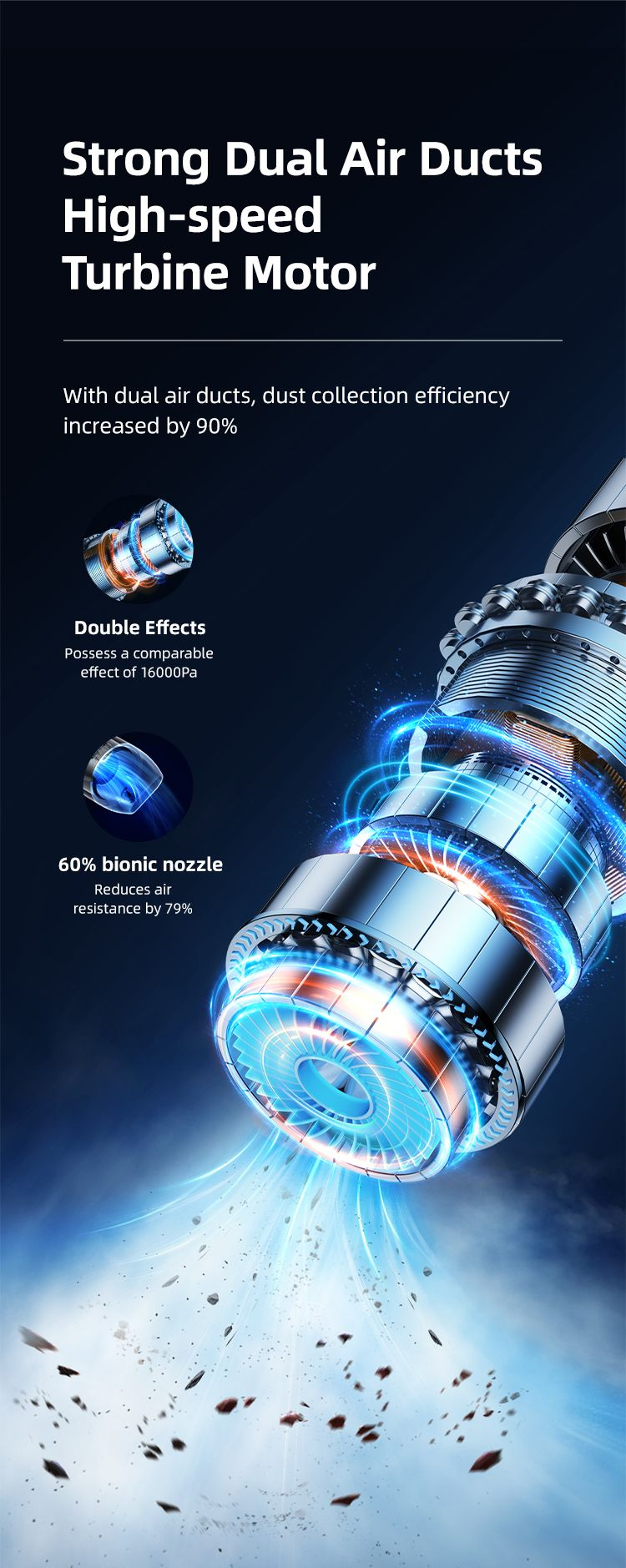 Usams Us Zb234 Mini Handheld Vacuum Cleaner Geoz Series (2)