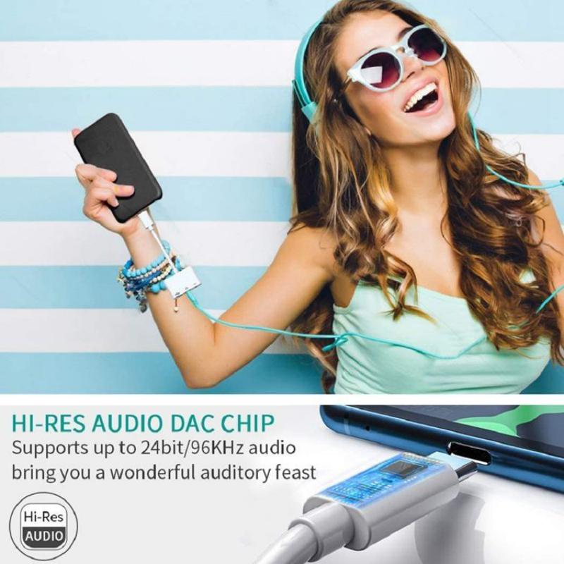 Usb C Otg Audio Adapter Type C To Usb 3 5mm Audio Jack Type C (3)