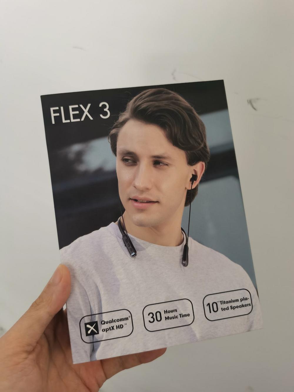 Wavefun Flex 3 Wireless Bluetooth Nackband Earphone (2)
