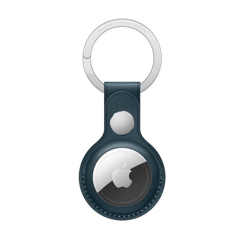 Wiwu Airtag Leather Key Ring