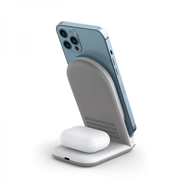 Wiwu Power Air 18w 2 In 1 Wireless Charger (2)
